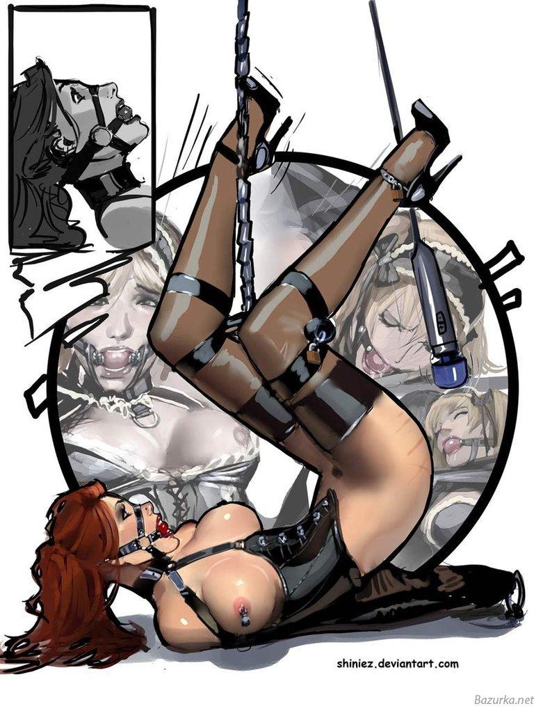 Бдсм женщины рисунки фото 669-943